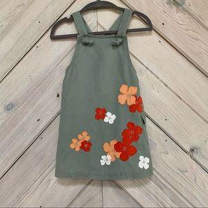 Janie and Jack Linen Blend Apron Dress